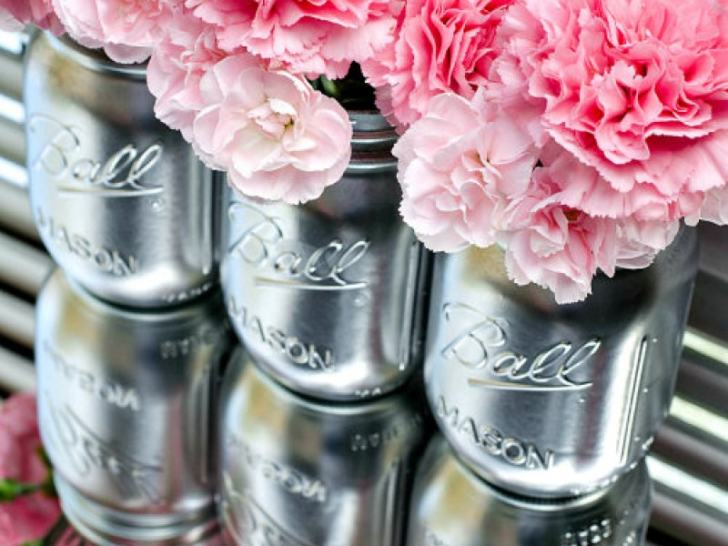 Mason Jar Centerpieces Crystal Lake Il Patch