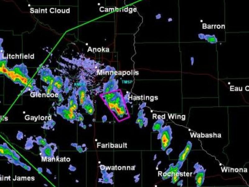 Tornado warning burnsville mn
