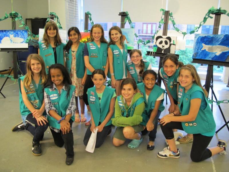 Bells Mill Girl Scouts Earn Prestigious Bronze Award ...