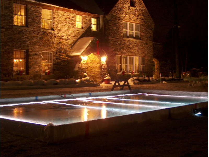 Superieur Tips For Building A Backyard Ice Rink