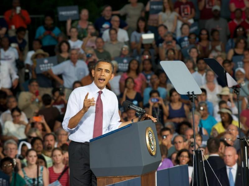 Photo Gallery Obama In Leesburg Manassas Va Patch