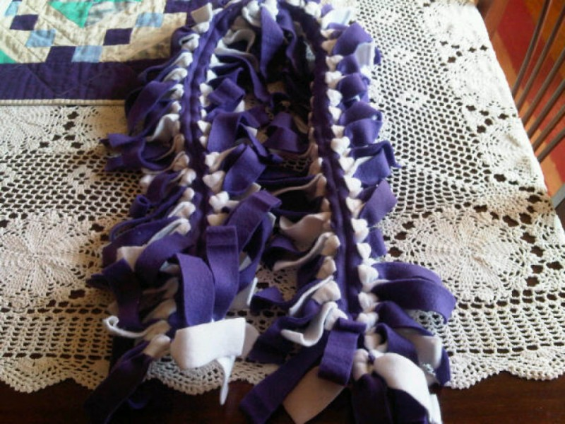 No Sew Fleece Scarves | North Branford, CT Patch