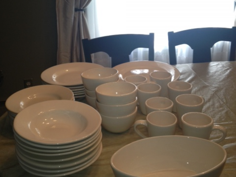 & For sale - Pottery Barn dinnerware | Mineola NY Patch