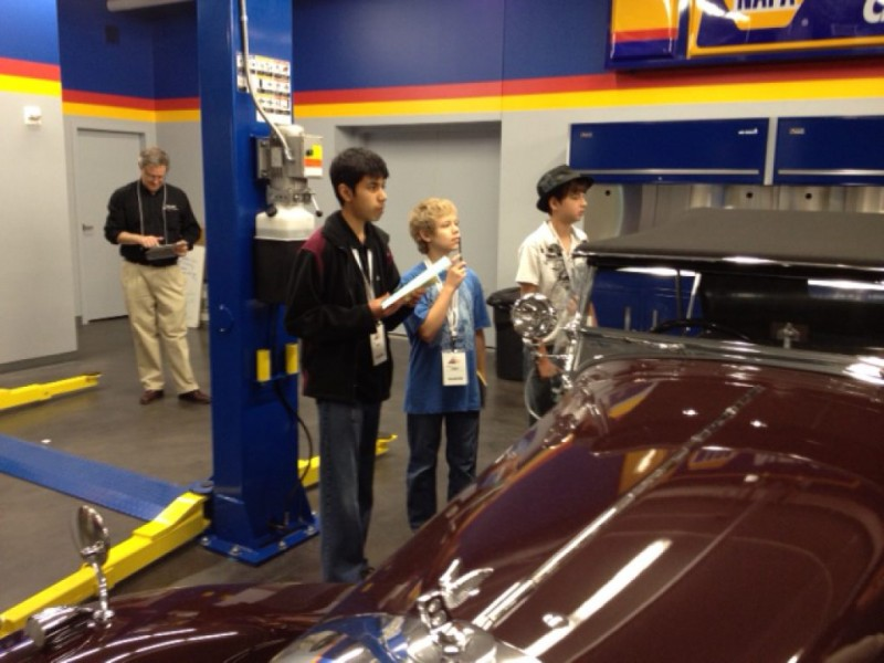 Mann Middle School Students To Judge Prestigious Car Show At LeMay - Lemay car show
