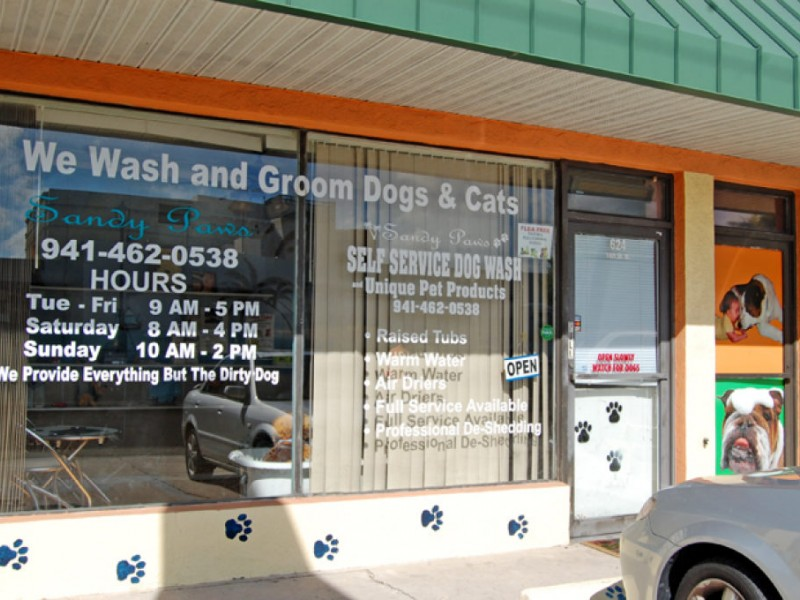Sandy paws self service dog wash provides everything but the dirty sandy paws self service dog wash provides everything but the dirty dog solutioingenieria Image collections