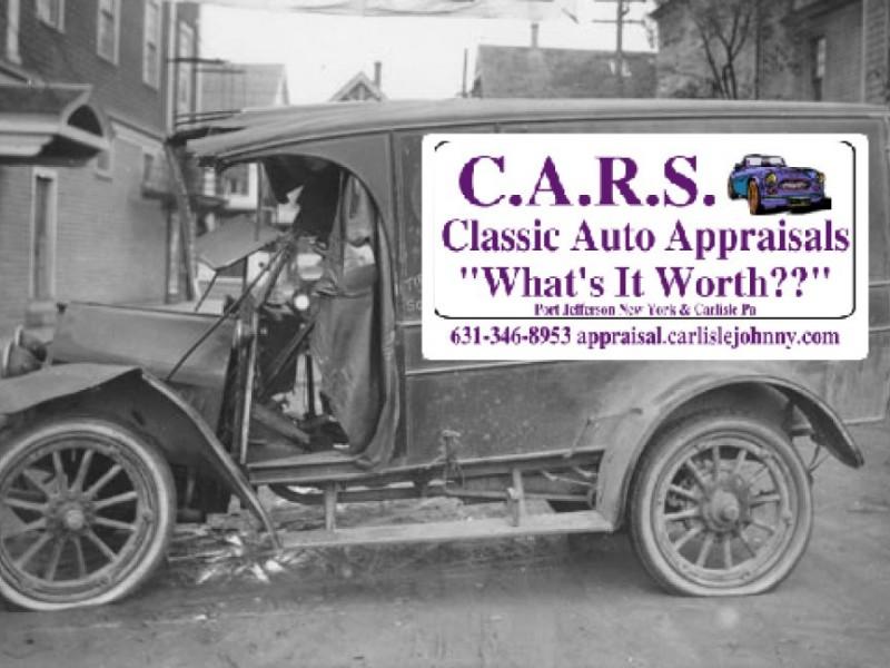 C.A.R.S Classic Auto Appraisals. Port Jefferson\'s Classic Vehicle ...
