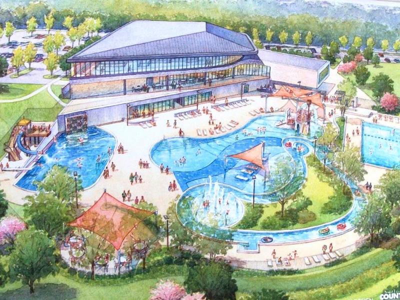 Lemay Community & Aquatic Center - Construction Now ...