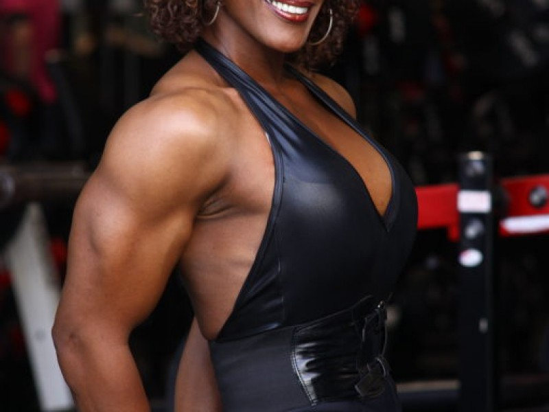 Hall of Fame Bodybuilder and Grandmother Still Flexing 62f10d3b767b9f0152b705c8abcd6b6d
