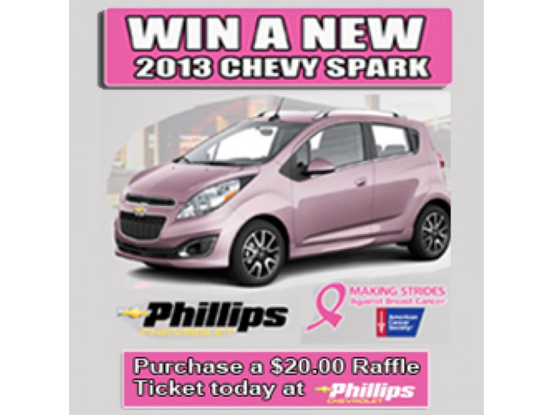 Win A Brand New 2013 Chevy Spark From Phillips Chevrolet!