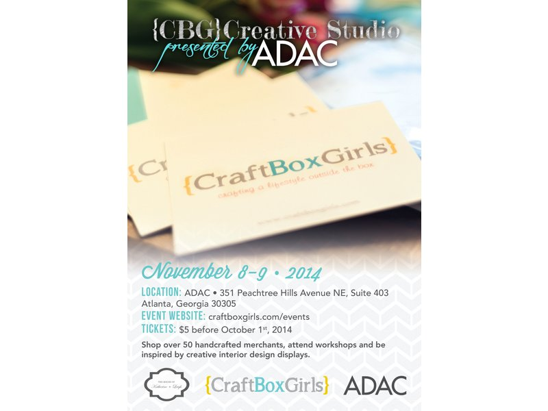 Inaugural Craft Box Girls Creative Studio Decatur Ga Patch