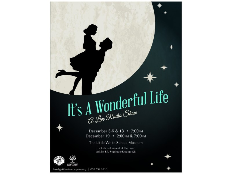 The Limelight Theatre Company Presents It 39 S A Wonderful Life A Live Radio Play Oswego Il Patch