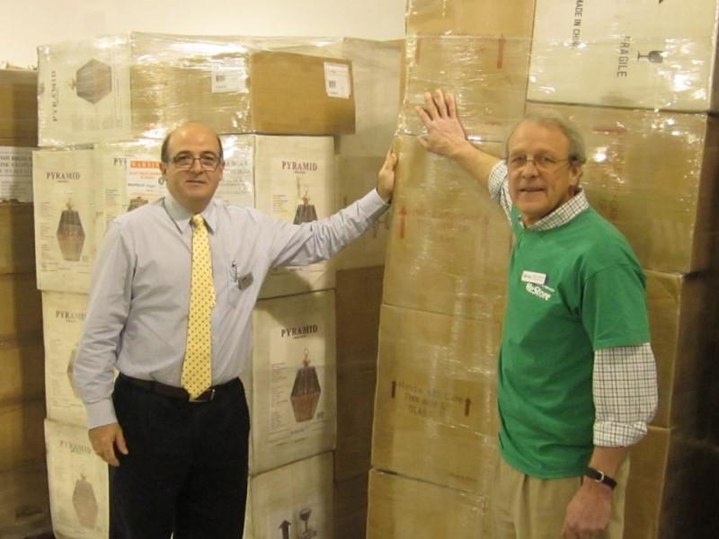 paramus company donates more than 9 000 light bulbs 150 lighting