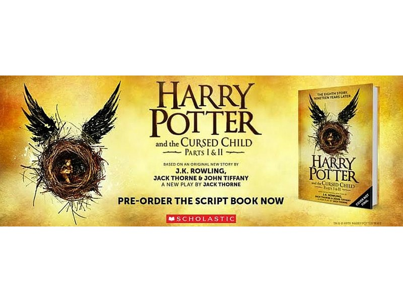Release Party - Harry Potter and the Cursed Child ...