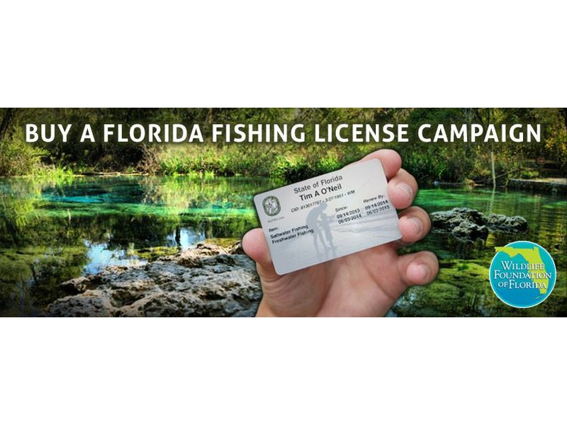 Win a free florida hunting fishing license for life new for Non resident florida fishing license