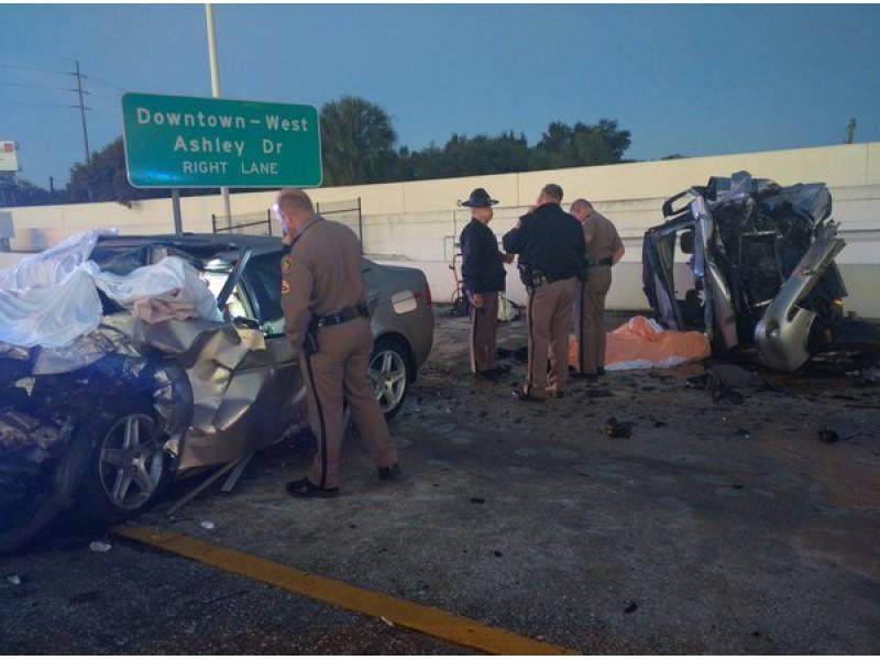 Wrong Way Car Crash Highway