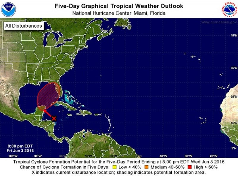 Tropical Disturbance Threatens Tampa Bay Tampa Fl Patch