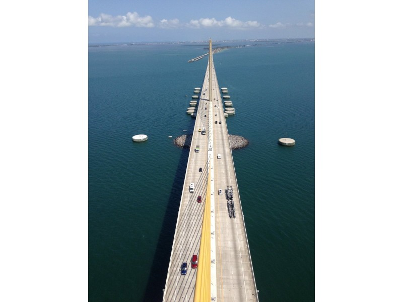 Skyway bridge closes to all traffic st pete fl patch for Skyway bridge fishing report