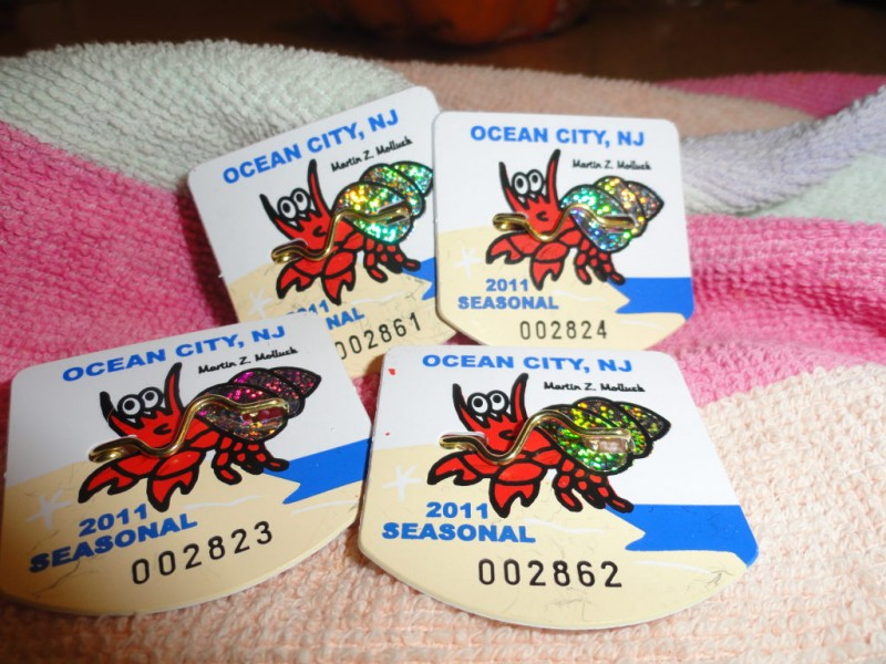 Summer Guide Where To Beach Tags In Ocean City Nj Patch