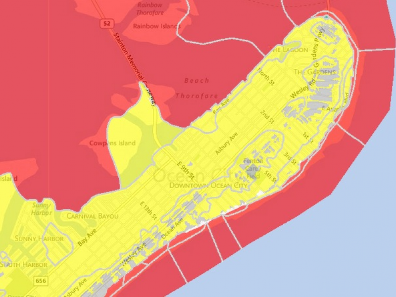 FEMA Releases Updated Flood Maps For Ocean City | Ocean City, NJ Patch