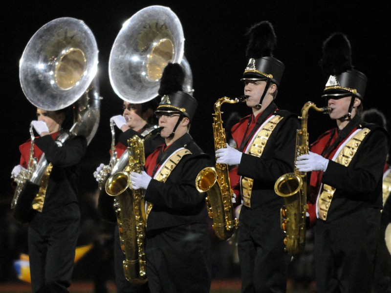 Photos: Cherry Hill East Marching Band Closes the Season ...