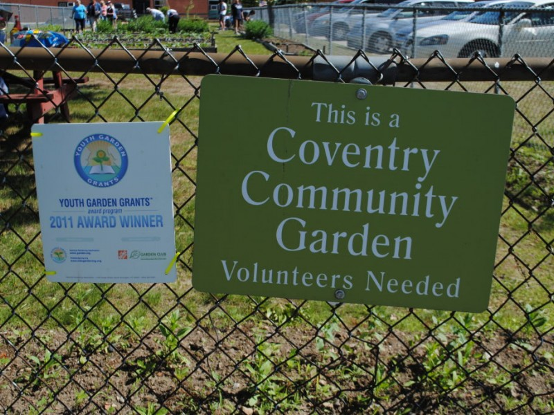 Coventry Community Garden Wins $4,000 Grant   Coventry, RI Patch