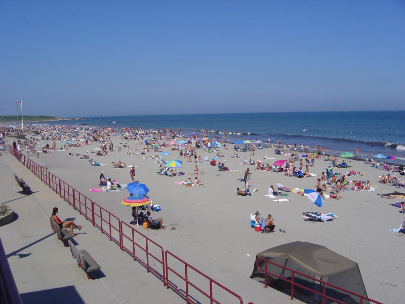 Scarborough State Beach Reopened To Swimming