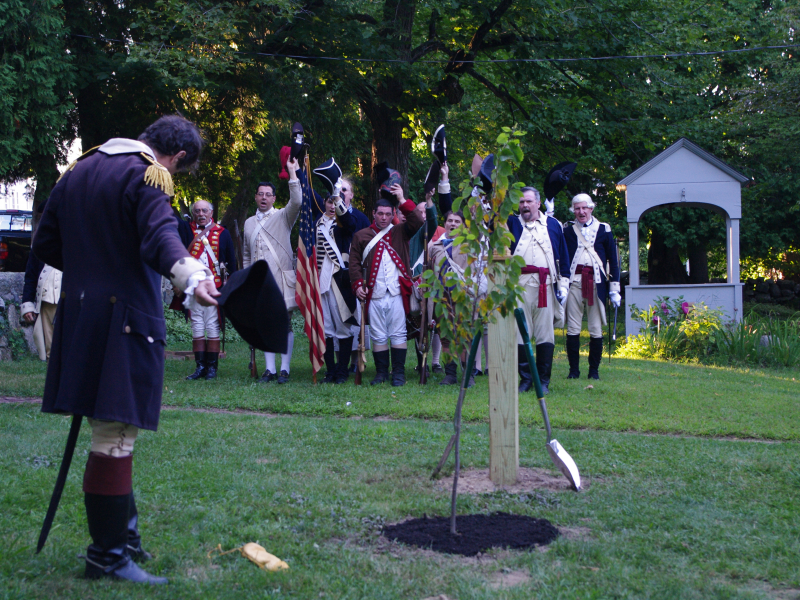 2013 liberty tree dedication at greene homestead in pictures