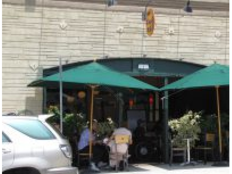 Monrovia 39 S Peach Cafe Helps Foothill Unity Center Collect Food Donations Monrovia Ca Patch