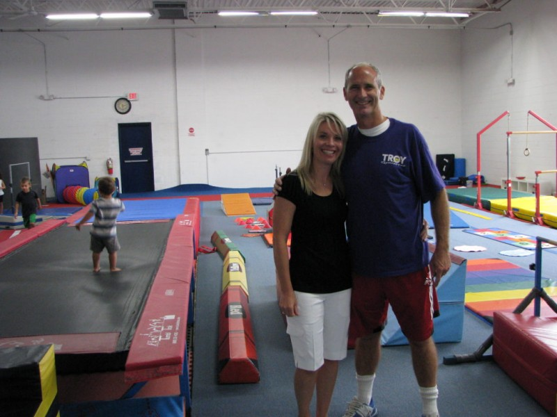 From garage to gym troy gymnastics officially opens new
