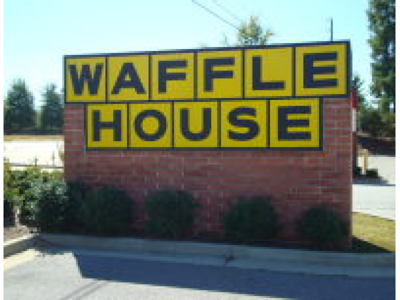 Waffle house on lawrenceville highway