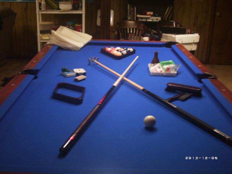 regulation size pool table west cobb ga patch