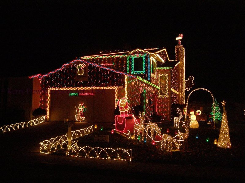 how to trade energy hogging holiday lights for ones more energy efficient