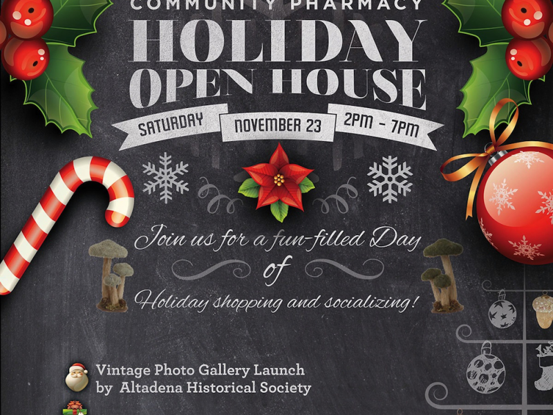 Pharmacy Open Christmas Day.Holiday Open House At Webster S Community Pharmacy