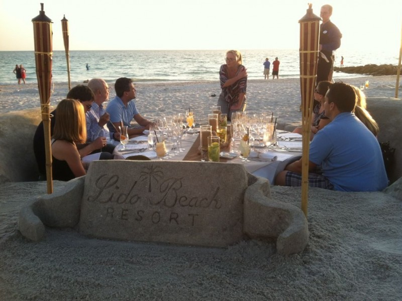 Dinner With Your Toes In The Sand Literally 0