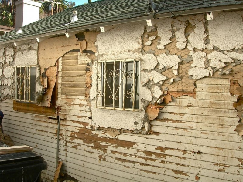 Patch Blog: Diy With A Buddy--How To Remove Stucco - Highland Park