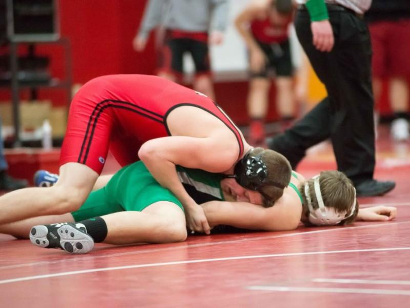 Greendale Vs South Milwaukee High School Wrestling