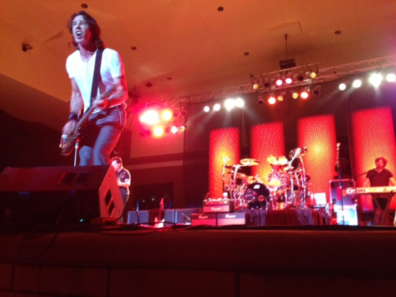 Rick Springfield Rocked On Stage in New Lenox!