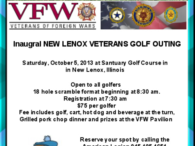 Golf Outing to Benefit Veterans at Sanctuary Golf Course   New Lenox on beverage golf cart accessories, beverage golf cart trailer, beverage golf cart babes, beverage golf cart clip art,