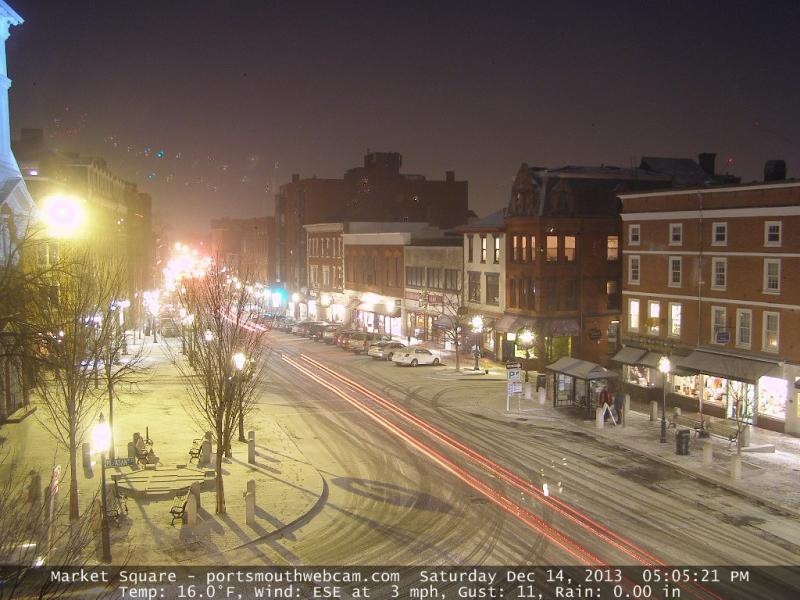 Portsmouth Webcam Captures Storm | Portsmouth, NH Patch