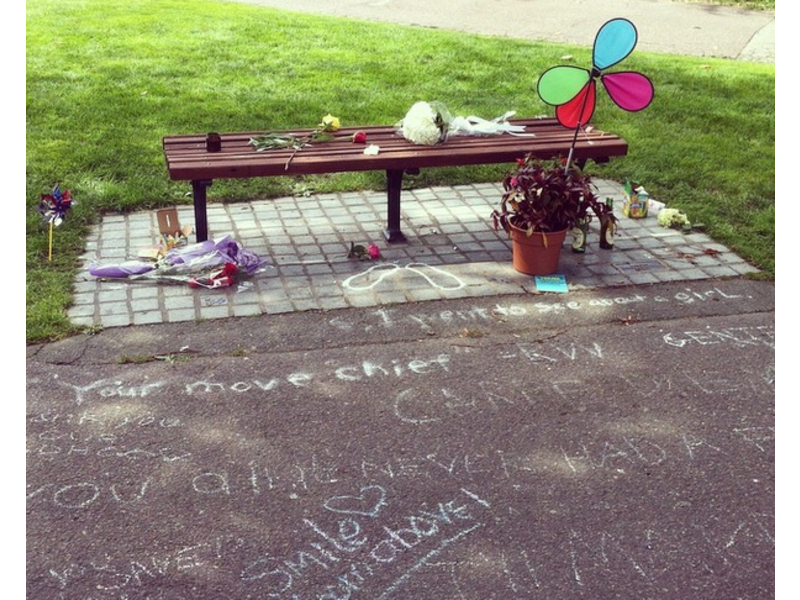 Good Will Hunting Bench In Boston Turned Into Robin