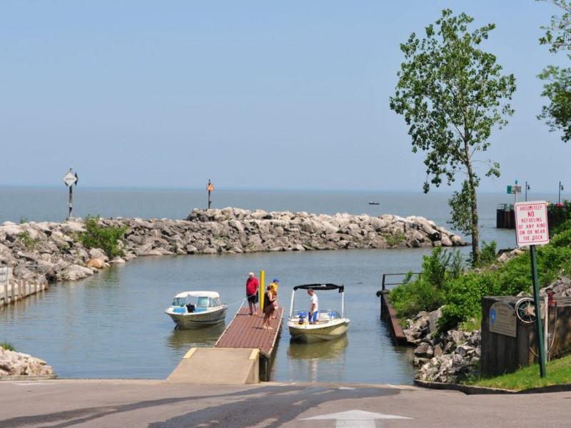Going Fishing Find Out Where The Hot Spots Are First AvonAvon - Lake erie fishing hot spots map