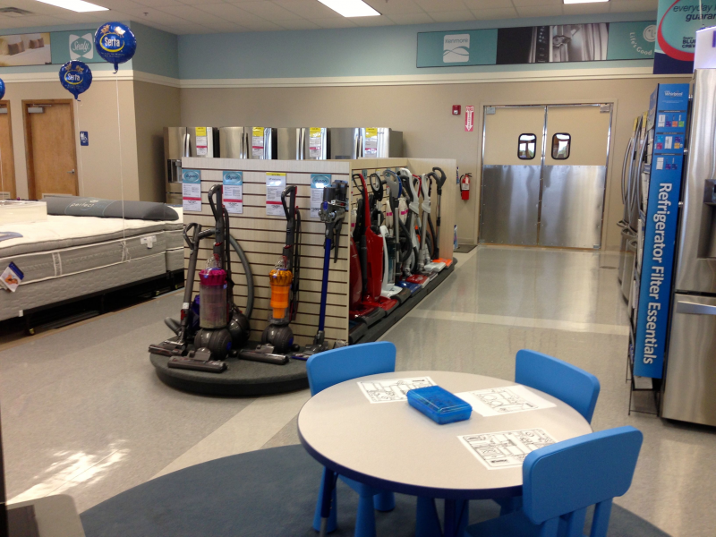 Sears home appliance showroom opens in the promenade at - Bathroom showroom cleveland ohio ...