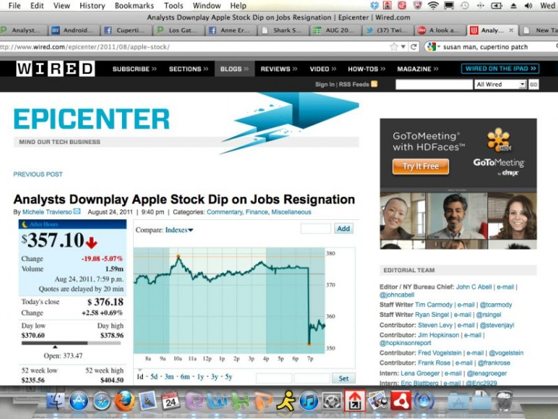 Analysts Less Surprised Than Some By Jobs\' Resignation | Cupertino ...