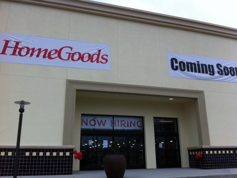 T J  Maxx and HomeGoods Combo Store Opens April 26 0. T J  Maxx and HomeGoods Combo Store Opens April 26   Cupertino  CA