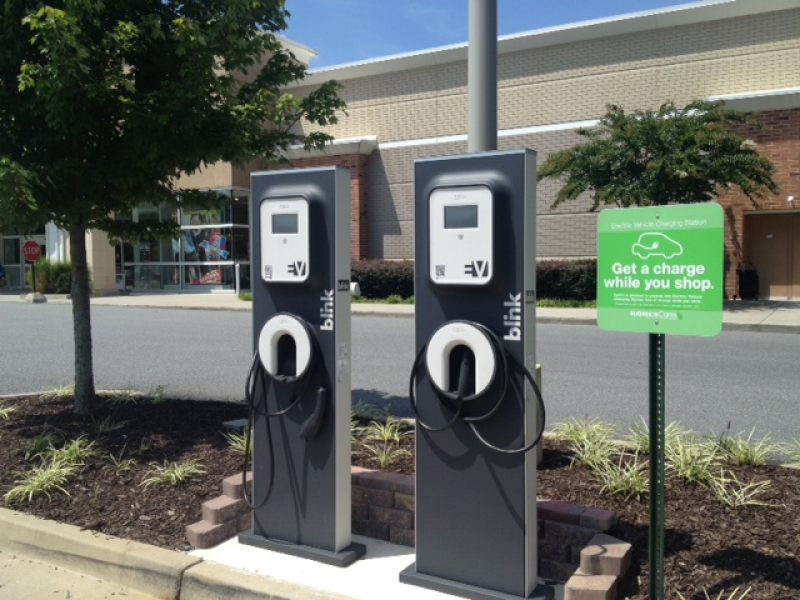 Spotted Electric Vehicle Charging Station Kohl S Milton Georgia Alpharetta Ga Patch