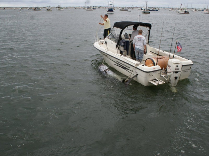 Giant tuna fishing from a small boat barnstable ma patch for A small fishing boat