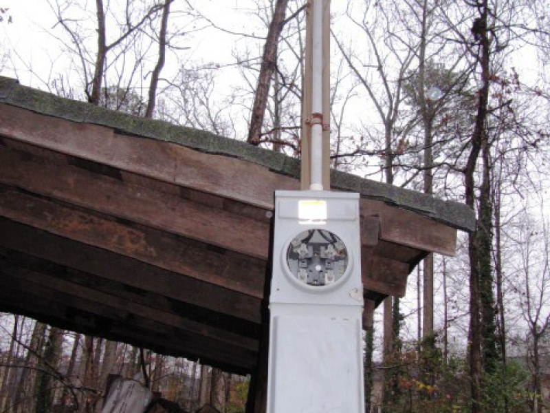 Temporary Power Pole Lawrenceville Ga Patch