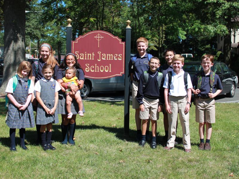 Saint James the Apostle School Preps for Catholic School Week
