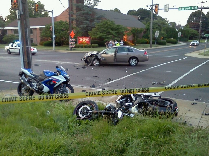 Police: Motorcycle Struck Car in Fatal Street Road Accident (Updated ...