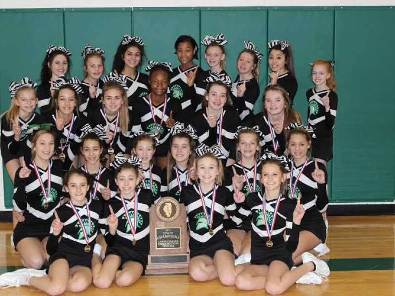 Summit Hill Jr. High Cheerleaders Best in State | New ...